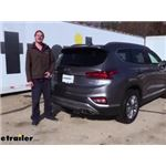 Curt Trailer Hitch Installation - 2020 Hyundai Santa Fe