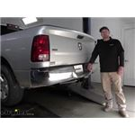 Curt Trailer Hitch Installation - 2012 Dodge Ram Pickup