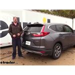Curt Trailer Hitch Installation - 2019 Honda CR-V