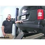 Curt Trailer Hitch Installation - 2017 Jeep Patriot