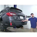 Curt Trailer Hitch Installation - 2018 Subaru Outback Wagon