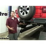 Curt Trailer Hitch Installation - 2019 Jeep Wrangler Unlimited