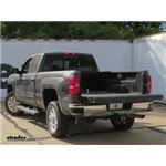 Gooseneck Trailer Hitch Installation - 2015 Chevrolet Silverado 2500 - Curt