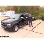 Curt Echo Mobile Trailer Brake Controller Installation - 2012 Chevrolet Tahoe