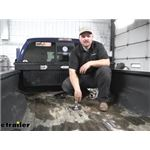 Curt EZr Double Lock Underbed Gooseneck Trailer Hitch Installation - 2012 Ford F-250 and F-350 Super