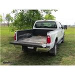 Curt EZr Double Lock Underbed Gooseneck Trailer Hitch Installation - 2013 Ford F-250 and F-350 Super
