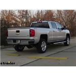 Curt EZr Double Lock Underbed Gooseneck Hitch Installation - 2015 Chevrolet Silverado 2500