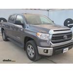 Curt 5th Wheel Wiring Harness Installation - 2015 Toyota Tundra