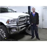 Curt Front Mount Trailer Hitch Installation - 2015 Ram 2500