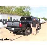 Curt Double Lock, Flip and Store Gooseneck Hitch Installation - 2015 Ford F-250 Super Duty