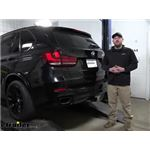 Curt Powered Tail Light Converter Kit Installation - 2017 BMW X5