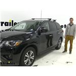 Curt Roof Rack Crossbars Installation - 2020 Nissan Pathfinder