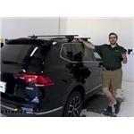 Curt Roof Rack Crossbars Installation - 2021 Volkswagen Tiguan