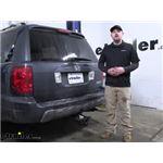 Curt Trailer Wiring Harness Installation - 2005 Honda Pilot