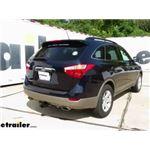 Curt T-Connector Vehicle Wiring Harness Installation - 2012 Hyundai Veracruz