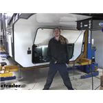 Curt Push-To-Test Trailer Breakaway Kit Installation - 2020 Grand Design Momentum 5W Toy Hauler