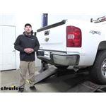 Curt Trailer Hitch Installation - 2009 Chevrolet Silverado