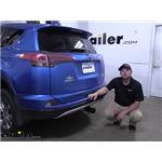 Curt Trailer Hitch Installation - 2016 Toyota RAV4