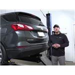 Curt Trailer Hitch Installation - 2020 Chevrolet Equinox