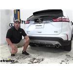 Curt Trailer Hitch Installation - 2020 Ford Edge