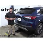 Curt Trailer Hitch Installation - 2020 Ford Escape