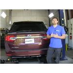 Curt Trailer Hitch Installation - 2020 Honda Odyssey