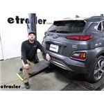 Curt Trailer Hitch Installation - 2020 Hyundai Kona