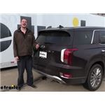 Curt Trailer Hitch Installation - 2020 Hyundai Palisade