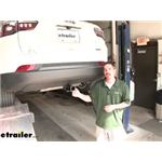 Curt Trailer Hitch Installation - 2020 Jeep Compass