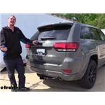 Curt Trailer Hitch Installation - 2020 Jeep Grand Cherokee