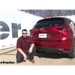 Curt Trailer Hitch Installation - 2021 Mazda CX-5