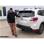 Curt Trailer Hitch Installation - 2021 Subaru Forester