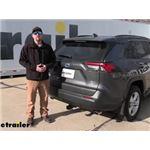 Curt Trailer Hitch Installation - 2021 Toyota RAV4