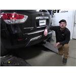 Curt T-Connector Vehicle Wiring Harness Installation - 2013 Nissan Pathfinder