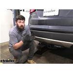 Curt T-Connector Vehicle Wiring Harness Installation - 2014 Hyundai Santa Fe