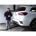 Curt T-Connector Vehicle Wiring Harness Installation - 2020 Kia Sorento