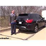 Curt T-Connector Vehicle Wiring Harness Installation - 2020 Nissan Pathfinder