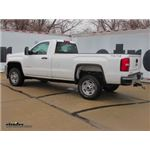 Gooseneck Trailer Hitch Installation - 2015 GMC Sierra - Curt