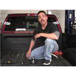 Curt Custom Underbed OEM-Style Gooseneck Trailer Hitch Installation - 2019 Ram 2500
