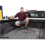 Curt Custom Underbed OEM-Style Gooseneck Trailer Hitch Installation - 2020 Chevrolet Silverado 2500