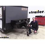 Demco eZ-Latch A-Frame Trailer Coupler Installation - 2020 Taxa Mantis Travel Trailer