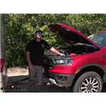 Demco SBS Towed Vehicle Battery Charge Wire Kit Installation - 2021 Ford Ranger