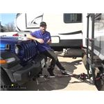 Demco Commander II Tow Bar for Blue Ox Base Plates Installation - 2020 Jeep Wrangler