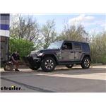 Demco Tow Bar Sentry Deflector Installation - 2018 Jeep JL Wrangler Unlimited