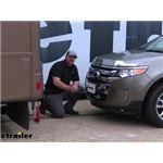 Demco Tabless Base Plate Kit Installation - 2014 Ford Edge