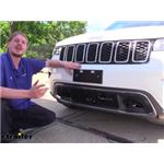 Demco Tabless Base Plate Kit Installation - 2017 Jeep Grand Cherokee