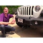 Demco Tabless Base Plate Kit Installation - 2020 Jeep Wrangler