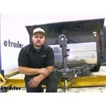 Dexter Trailer Axle Beam with E-Z Lube Spindles Installation
