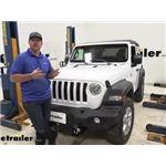 Draw-Tite I-Command Trailer Brake Controller Installation - 2019 Jeep Wrangler