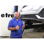 Draw-Tite Sportframe Trailer Hitch Installation - 2019 Honda Civic